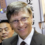 Bill Gates in Beijing, China