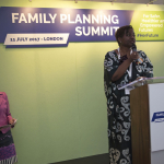 Dr. Natalia Kanem, Acting Executive Director of the United Nations Population Fund (UNFPA)