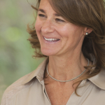 Melinda Gates in Mbuguni, Tanzania on September 26, 2012.